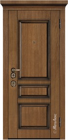 Входная дверь Artwood М1707/9 тик, патина