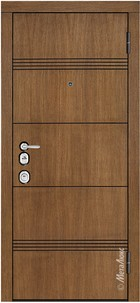 Входная дверь Artwood М1705/9 тик, патина